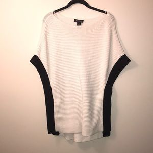 white house black market sweater poncho